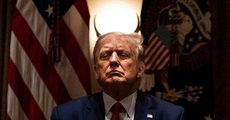 شکار عکس نیویورک تایمز از ترامپ