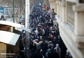 تصویر باورنکردنی از بازار تهران