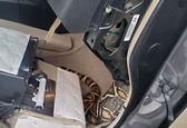 صحنه وحشتناکی که این مرد در ماشینش دید!+عکس