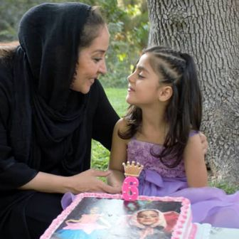جشن تولد دختر خوانده خانم بازیگر+عکس