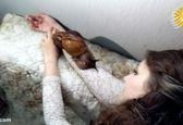 حیوان خانگی عجیب  این زن همه را متحیر کرد! +عکس
