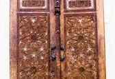 قدیمیترین در چوبی حرم امام رضا (ع) + عکس