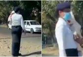 پلیس زن با نوزادش در خیابان سوژه شد! +عکس