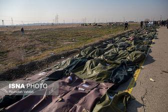 شناسایی ۵۰ پیکر از جانباختگان هواپیمای اوکراینی +اسامی