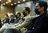 همسر مهناز افشار در مراسم چهلم «آزاده نامداری» + عکس