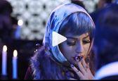فیلم لو رفته از مهناز افشار درحال کشیدن سیگار +عکس