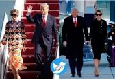 تغییر لباس ملانیا ترامپ سوژه شد+عکس