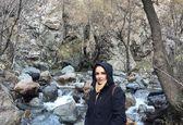 گردش شبنم قلی خانی در طبیعت درکه +عکس